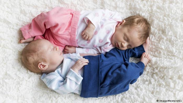 Twins: A boy and a girl