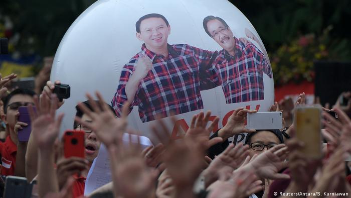 Indonesien Proteste in Jakarta (Reuters/Antara/S. Kurniawan)