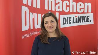 Avrupa Parlamentosu'nun Almanya'dan Sol Partili milletvekili Özlem Alev Demirel