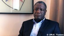Dr. Denis Mukwege im CMS stellen Ort : Berlin Beruf: Frauenarzt in RD Kongo