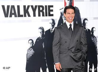 Tom Cruise em Nova York: herói de filme de ação