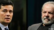 Richter Sergio Moro und Ex-Präsident Brasiliens Lula da Silva