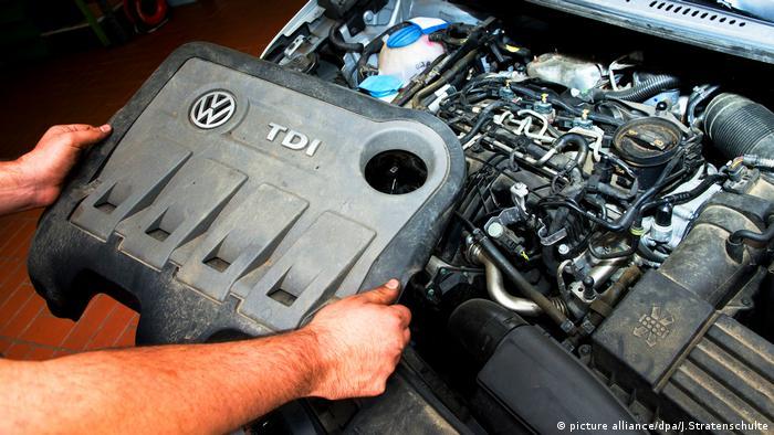 Motor diesel de VW