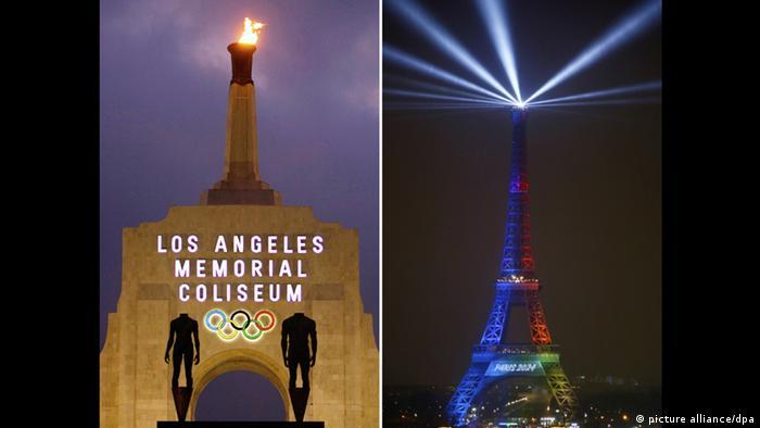 Enges Rennen um die Olympischen Spiele 2024 (picture alliance/dpa)