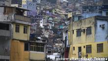 Brasilien Favela in Rio de Janeiro