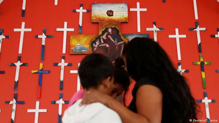 Violencia contra migrantes en México