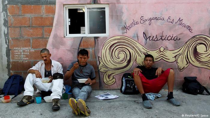 Mexiko Migranten in Tenosique (Reuters/C. Jasso)