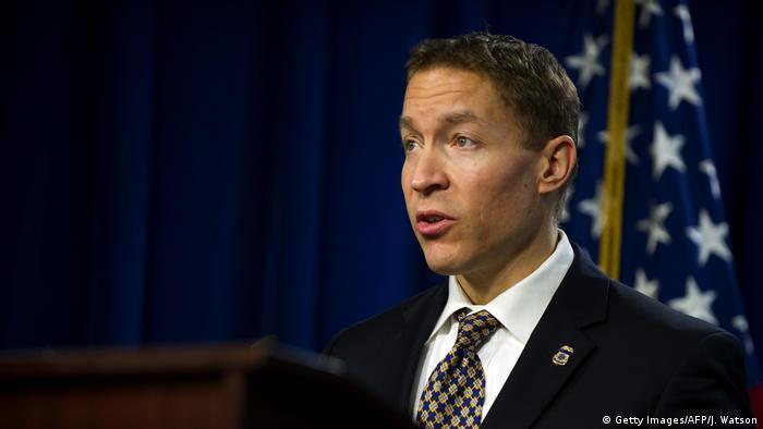 Daniel Ragsdale ehemaliger Chef der US-Einwanderungs- und Zollbehörde (Getty Images/AFP/J. Watson)