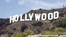 USA Hollywood-Schriftzug Los Angeles