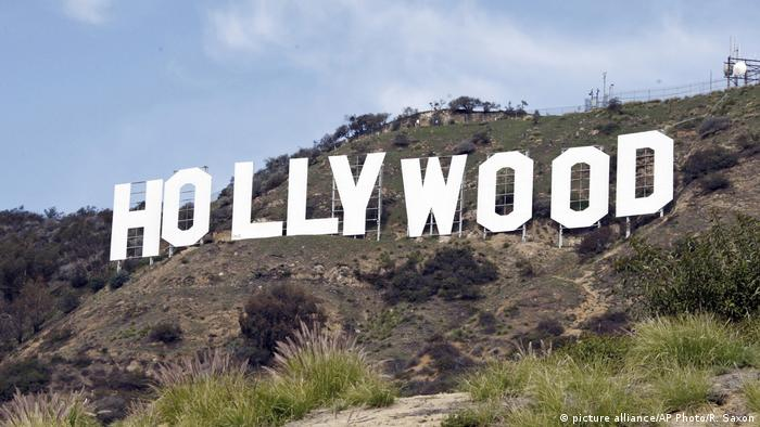 USA Hollywood-Schriftzug Los Angeles (picture alliance/AP Photo/R. Saxon)