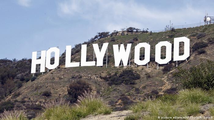 USA Hollywood-Schriftzug Los Angeles