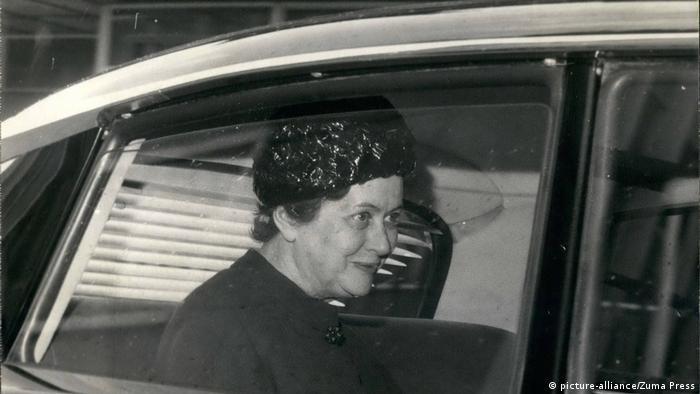 Yvonne de Gaulle em 1964