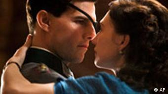 Tom Cruise as Stauffenberg