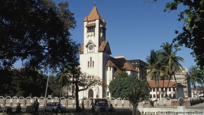 Igreja protestante em Dar es Salaam