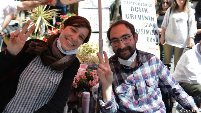 Nuriye Gulmen and Semih Ozakca before their arrests