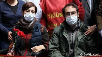 Türkei Hungerstreik - Nuriye Gülmen & Semih Özakca (DW/H. Köylü)