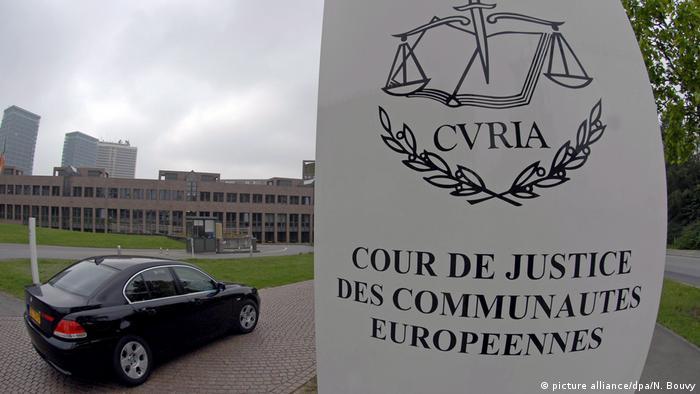 Luxemburg Der eurpäische Gerichtshof (picture alliance/dpa/N. Bouvy)