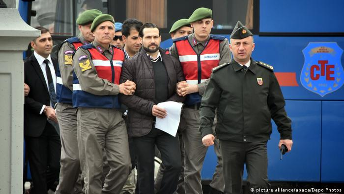 Soldiers Involved In The Failed Coup At Court - Turkey (picture alliance/abaca/Depo Photos)