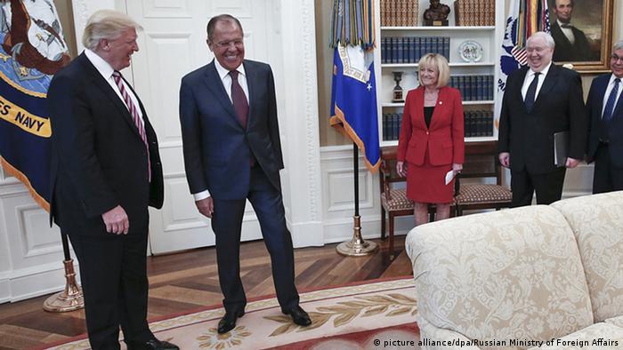 USA Trump trifft Lawrow