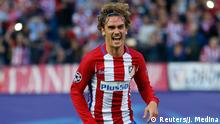 Champions League - Atletico Madrid vs. Real Madrid | Jubel Antoine Griezmann