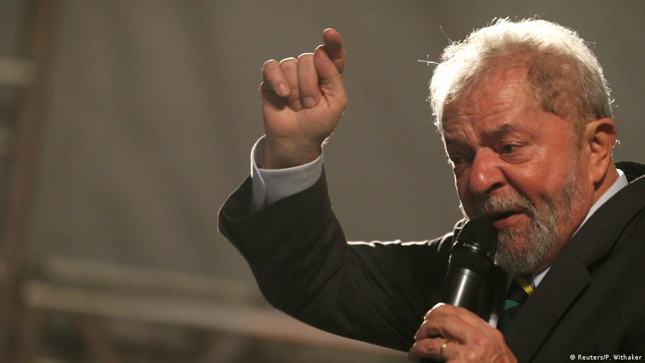 Image result for Brazil's ex-president Lula starts campaign despite corruption trial