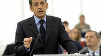 French President Nicolas Sarkozy spearheaded the Music Card plan