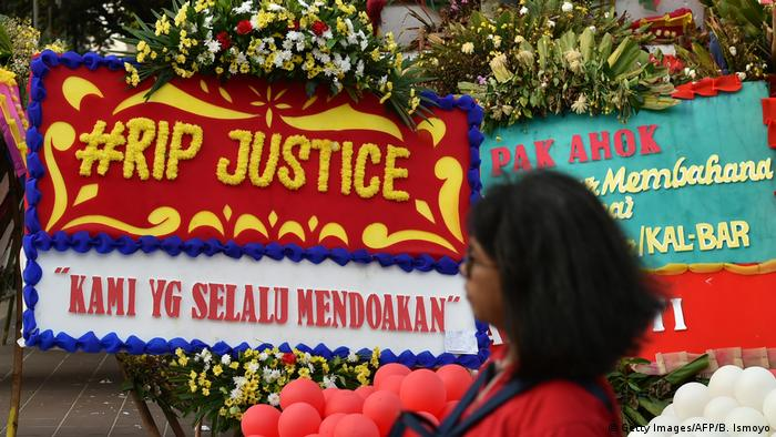 Indonesien Proteste in Jakarta (Getty Images/AFP/B. Ismoyo)