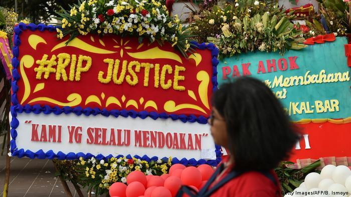 Indonesien Proteste in Jakarta (Getty Images/AFP/B. Ismoyo)