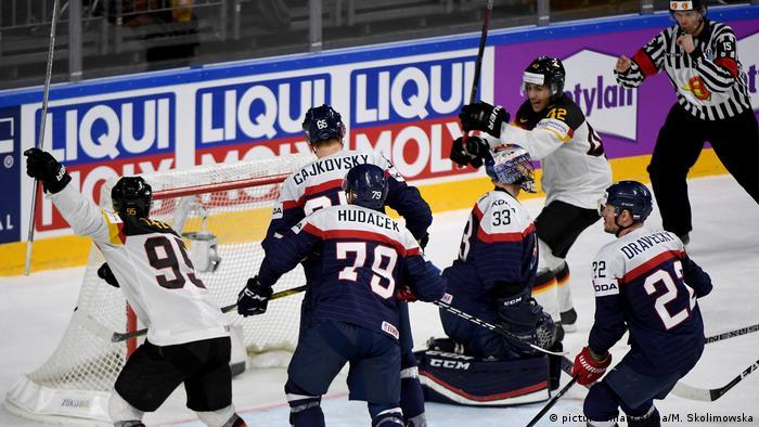 Eishockey-WM: Slowakei - Deutschland (picture-alliance/dpa/M. Skolimowska)