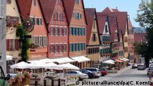 Deutschland Altstadt von Dinkelsbühl