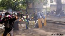 Unruhen in Venezuela halten an