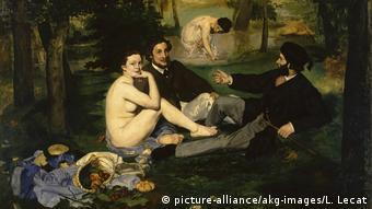 """""""Almoço sobre relva"""", de Manet, causou escândalo no século 19"""