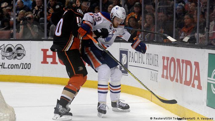 NHL-Stanley Cup Playoffs-Edmonton Oilers vs Anaheim Ducks