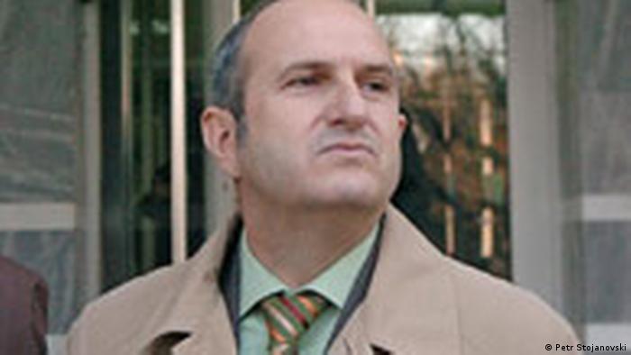EX-Premierminister von Mazedonien Vlado Buckovski