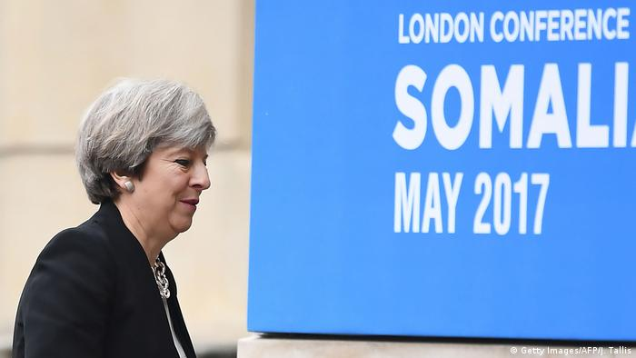Großbritannien Somalia-Konferenz in London (Getty Images/AFP/J. Tallis)