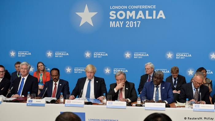 Großbritannien Somalia-Konferenz in London (Reuters/H. McKay)