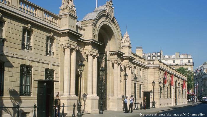 Elysee Palace (Foto: picture-alliance/akg-images/H. Champollion)