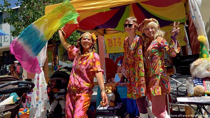 USA Ausstellung «The Summer of Love Experience» in San Francisco (picture-alliance/dpa/R. Merry)