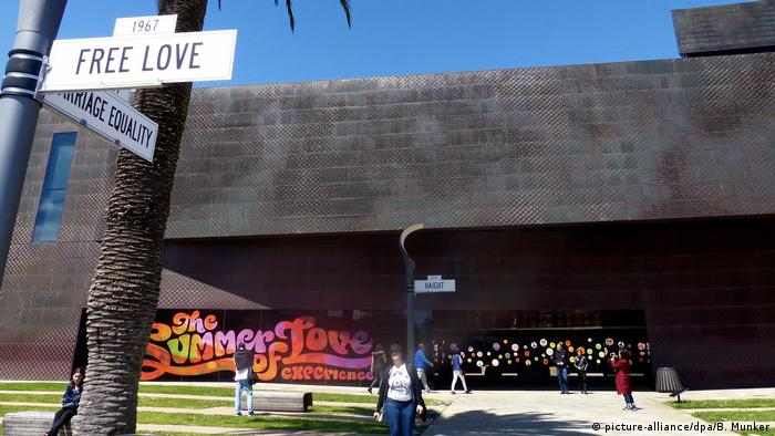USA Ausstellung «The Summer of Love Experience» in San Francisco (picture-alliance/dpa/B. Munker)