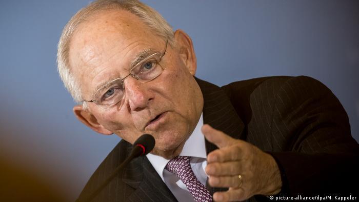 Глава мінфіну ФРН застерігає від швидкого розширення Єврозони