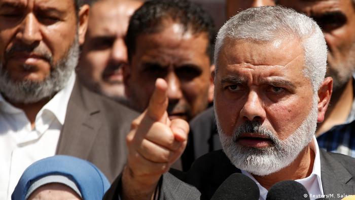 اسماعیل هنیه، رئیس دفتر سیاسی سازمان افراط گرای حماس