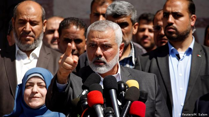 Gaza City Hamas Chef Ismail Haniyeh (Reuters/M. Salem)
