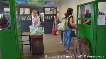 Пункт пропуску на українсько-польському кордоні