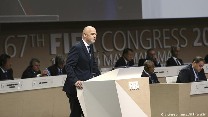 Gianni Infantino (picture alliance/AP Photo/Str)