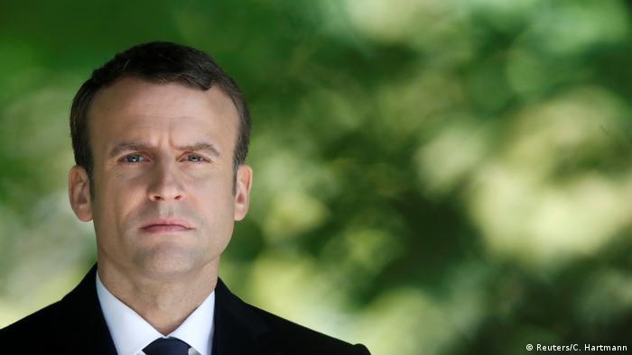 Emmanuel Macron (Reuters/C. Hartmann)