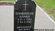 07.05.2017 +++ Das Grab von Hanka Szendzielarz in Wagenschwend