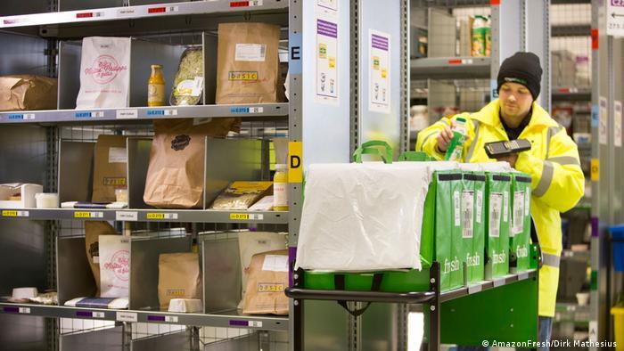 Deutschland AmazonFresh startet in Berlin & Potsdam