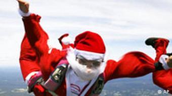 BdT Fliegender Weihnachtsmann über Sydney