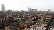 Ägypten Slum von Ramlet Bulaq in Kairo