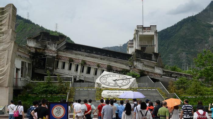 China Jahrestag des großen Erdbebens in Wenchuan (Reuters/Stringer)